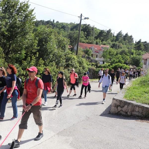 Završena vođena pješačka turu kroz Konavle Radovčići – Poljice – Radovčići